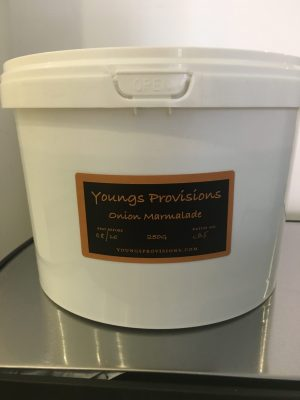 Youngs Provisions Onion Marmalade Catering Tub